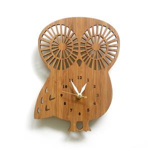 掛け時計 Owl-L(フクロウL)