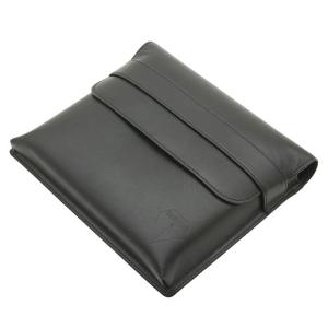 ペンケース 木枠タイプ 6本用 ブラック