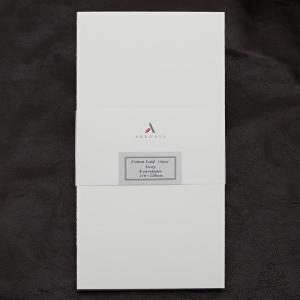 封筒 ペーパーコレクション コットンレイド アイボリー