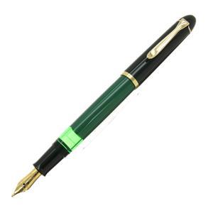 万年筆 M120 グリーンブラック B