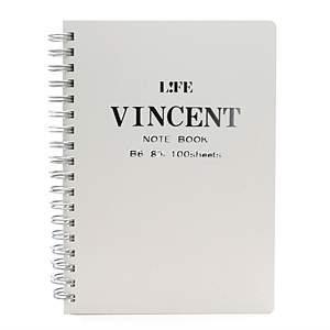 ヴィンセントノート B6 白 N189B