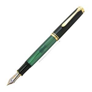 万年筆 スーベレーン M1000 緑縞 F (PF刻印)