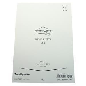 SAKAE サカエテクニカルペーパー ルーズシート トモエリバーFP A4 68g/m2 ホワイト メイン