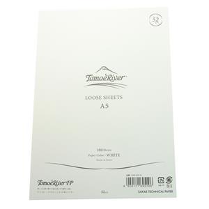 ルーズシート トモエリバーFP A5 52g/m2 ホワイト