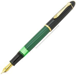 万年筆 M120 グリーンブラック F