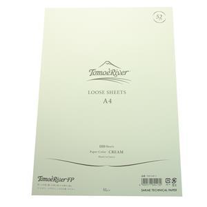 ルーズシート トモエリバーFP A4 52g/m2 クリーム