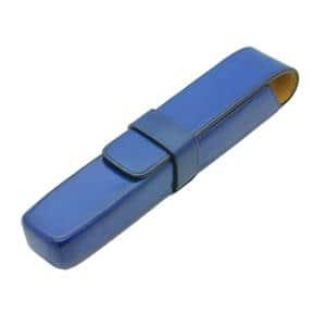 ペンケース 1本用 ブルー