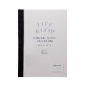 kleid×LIFE ノーブルノート ホワイト B6 2mm方眼 8964(ホワイト)