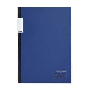 中村印刷所×kleid フラットノート ブルー A5 2mm方眼 8403(ホワイト)