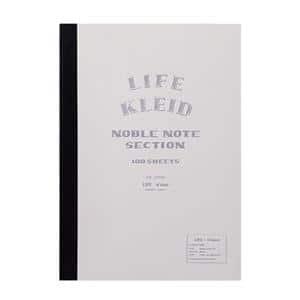 ノート kleid×LIFE ノーブルノート ホワイト A5 2mm方眼 8962(ホワイト)