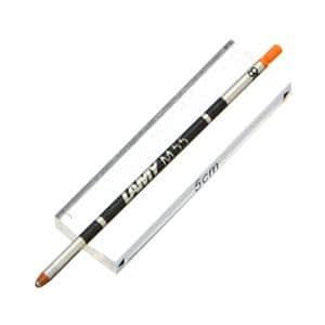 ボールペン替芯 マーカー替え芯 LM55 蛍光オレンジ (ツイン・トライペン対応)