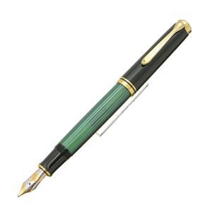 万年筆 スーベレーン M800 緑縞 M