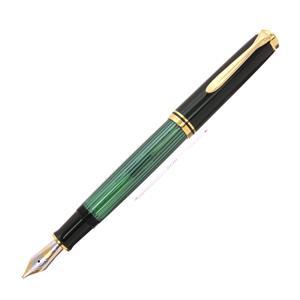 万年筆 スーベレーン M800 緑縞 イタリックライティング