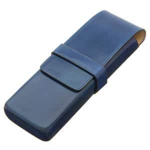 ペンケース 2本用 ブルー