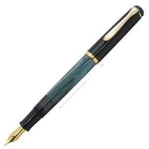 Pelikan ペリカン 万年筆 トラディショナル M200 マーブルブルー EF メイン