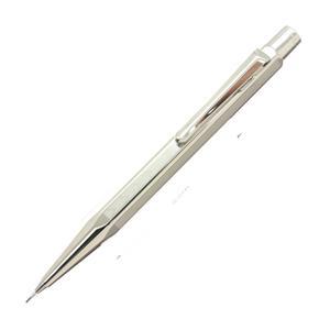 メカニカルペンシル エクリドール XS シェブロン シルバー&ロジウムプレート 0.5mm