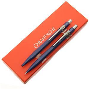 セット 849 インディゴブルー ボールペン+メカニカルペンシル0.7mm