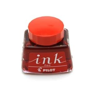 ボトルインク PILOT INK-30 レッド