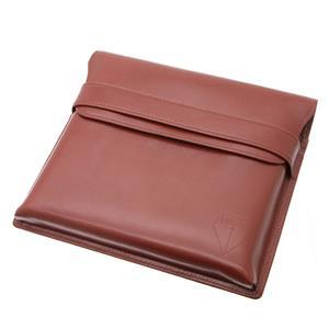 ペンケース 木枠タイプ 6本用 チョコレートブラウン