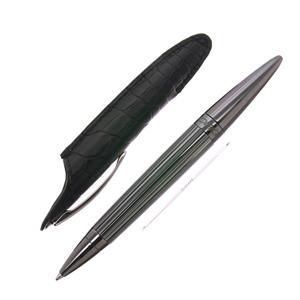 ボールペン ヨルグ・ペン ミニサイズ シルバーフィニッシュ ブラック