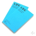 LIFE ライフ 名刺型メモランダム 2冊入り あさぎ M375