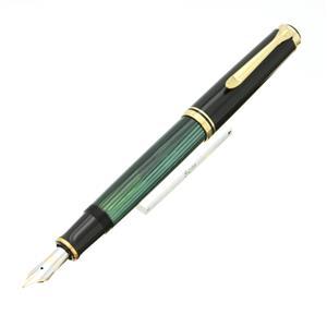 万年筆 スーベレーン M600 緑縞 F