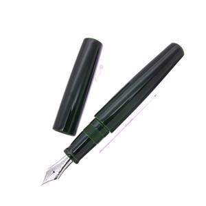 万年筆 シガーモデル ピッコロ 緑 中字 (ロジウムペン先/胴軸ネジ総エボナイト)