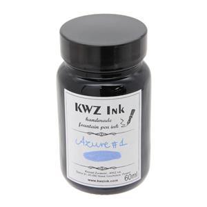 ボトルインク カヴゼットインク(KWZInk) アズール#1 60ml