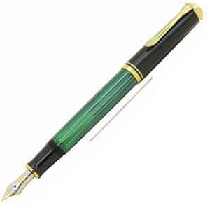 万年筆 スーベレーン M400 緑縞 F