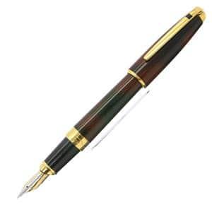 万年筆 オランピオ 純正漆 トータスシェル 481536 EF