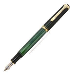 万年筆 スーベレーン M400 緑縞 F [ネーム刻印]