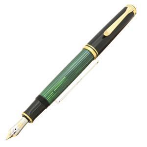 万年筆 スーベレーン M600 緑縞 B