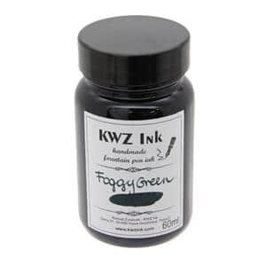 ボトルインク カヴゼットインク(KWZInk) フォギーグリーン 60ml