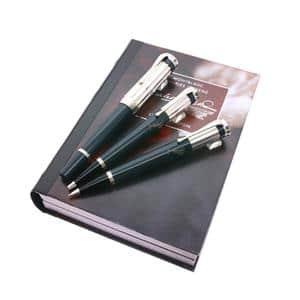 セット 作家シリーズ2001 チャールズ・ディケンズ 万年筆(M)+ボールペン+メカニカルペンシル0.7mm