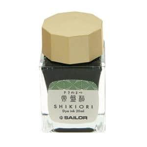 ボトルインク SHIKIORI [四季織] 十六夜の夢 常盤松 20ml