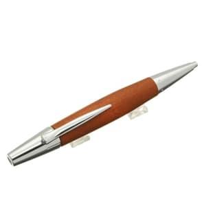 ボールペン エモーション ウッド&クローム 梨の木 ブラウン
