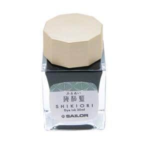 ボトルインク SHIKIORI [四季織] 十六夜の夢 海松藍 20ml