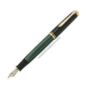 万年筆 スーベレーン M600 緑縞