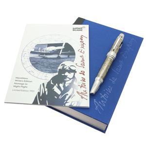MONTBLANC モンブラン 万年筆 作家シリーズ2017 リミテッドエディション1931 アントワーヌ・ド・サン=テグジュペリ M メイン