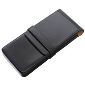 ペンケース 3本用 ブラック
