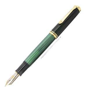 万年筆 スーベレーン M1000 緑縞 EF