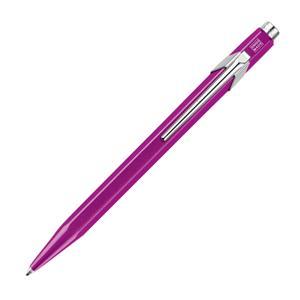 ボールペン 849 POPLINE メタルX パープル