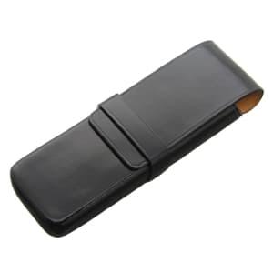ペンケース 2本用 ブラック