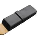 IL Bussetto イル・ブセット ペンケース 2本用 ブラック 1