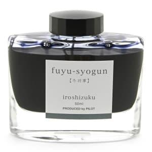 ボトルインク iroshizuku 色彩雫 fuyu-syogun 【冬将軍】 50ml
