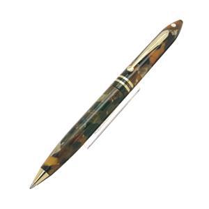 ボールペン バランス マーブルカラー アンバーグロー