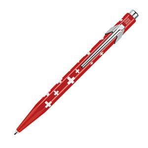 CARAN d'ACHE カランダッシュ ボールペン 849 POPLINE スイスフラッグ レッド メイン