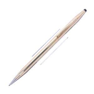 メカニカルペンシル クラシックセンチュリー 14金張 0.9mm