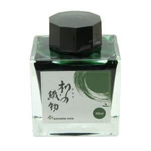 ボトルインク キングダムノート別注 源氏物語シリーズ 柳の織物 角瓶 50ml