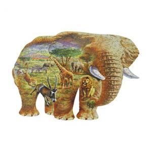木製パズル ELEPHANT SAVANNA (250 Series)